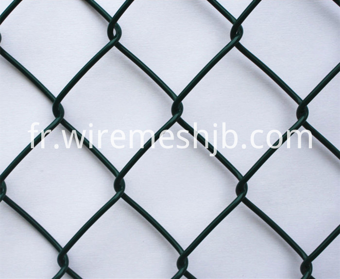 Vinyl Coated Chain Link Fabric